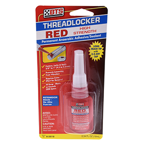 .34OZ RED THREADLOCKE